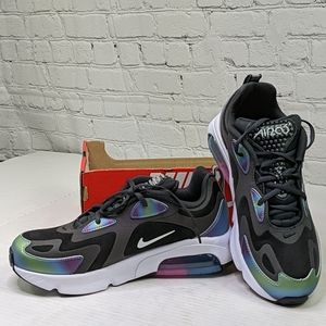 NWT Nike air max 200 iridescent sneakers